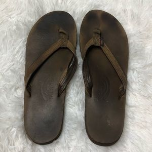 Rainbow Sandals Size 6 Small